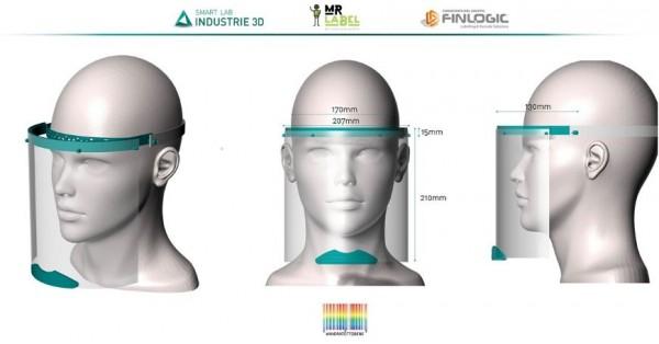 Avviata la produzione di maschere e dispositivi per il volto
