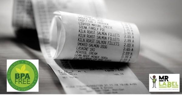Scontrini ed etichette senza BPA d'obbligo dal 2020