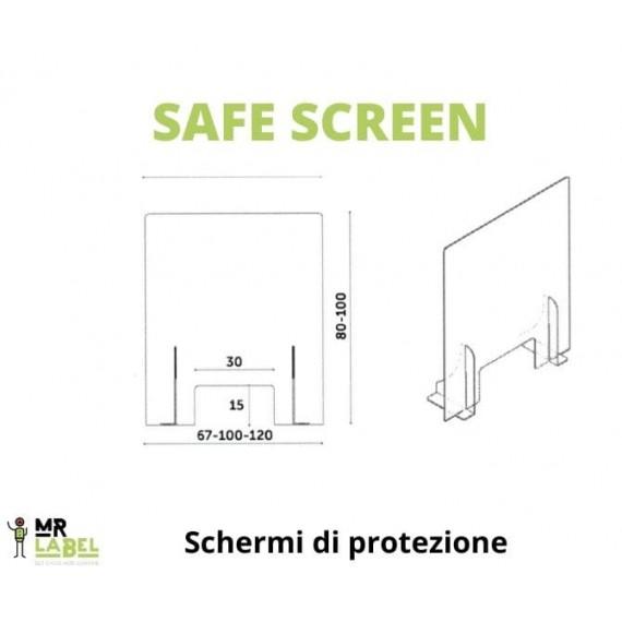 Safe Screen con Passacarte